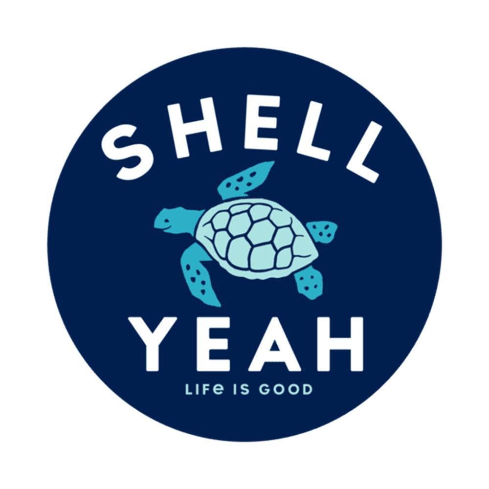 Shell Yeah 4-Circle Sticker