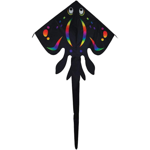Black Stingray Delta Kite