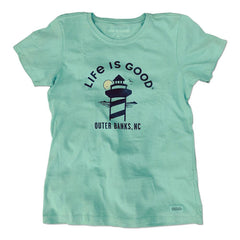 Women's Outer Banks Lighthouse Crusher Tee