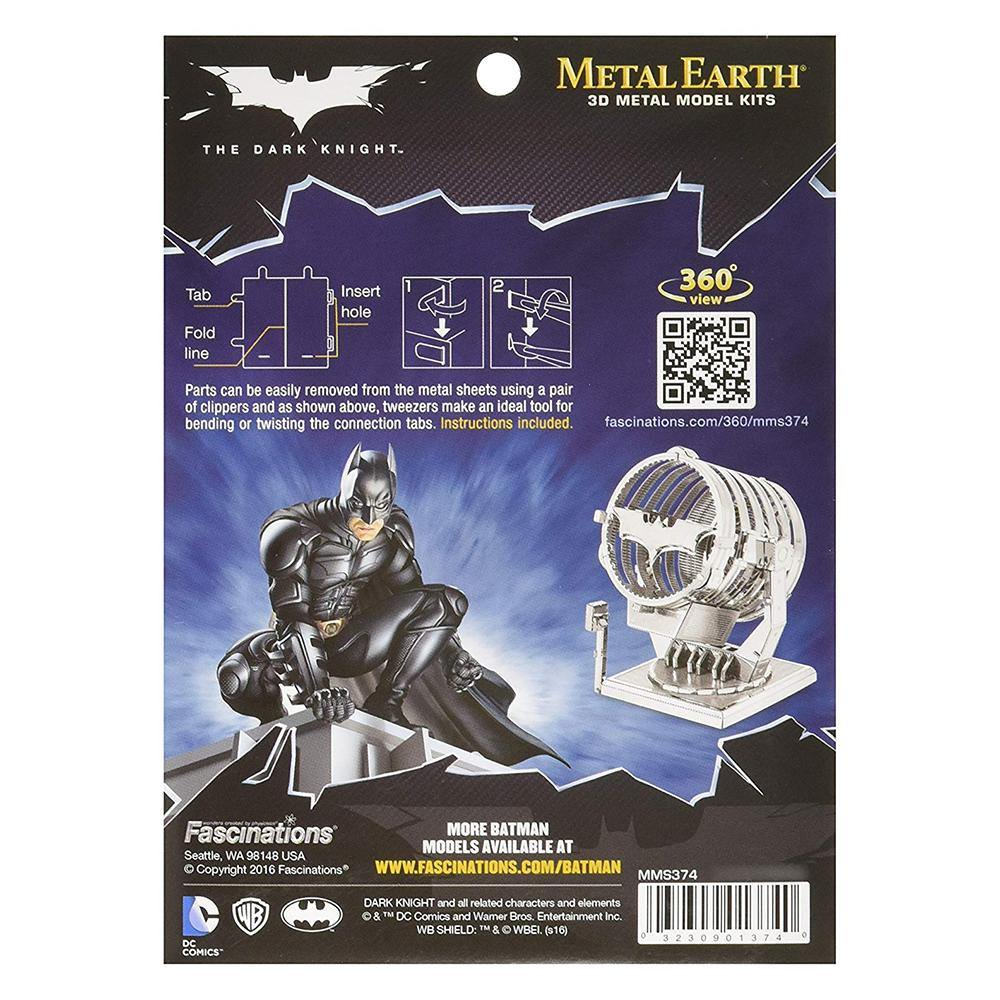 Metal Earth Batman Bat Signal 3D Model Kit