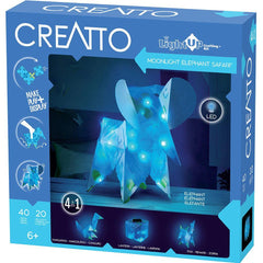 Moonlight Elephant Safari Light Up Craft Kit