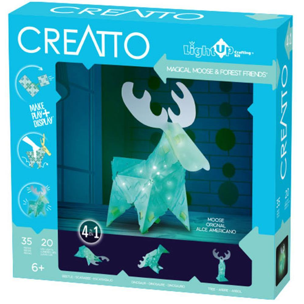 Magical Moose & Forest Friends Light Up Craft Kit