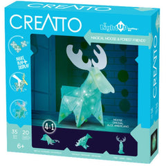 Magical Moose & Forest Friends Light Up Craft Kit - Kitty Hawk Kites Online Store