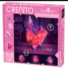 Starlight Kitty & Cutie Crew Light Up Craft Kit - Kitty Hawk Kites Online Store