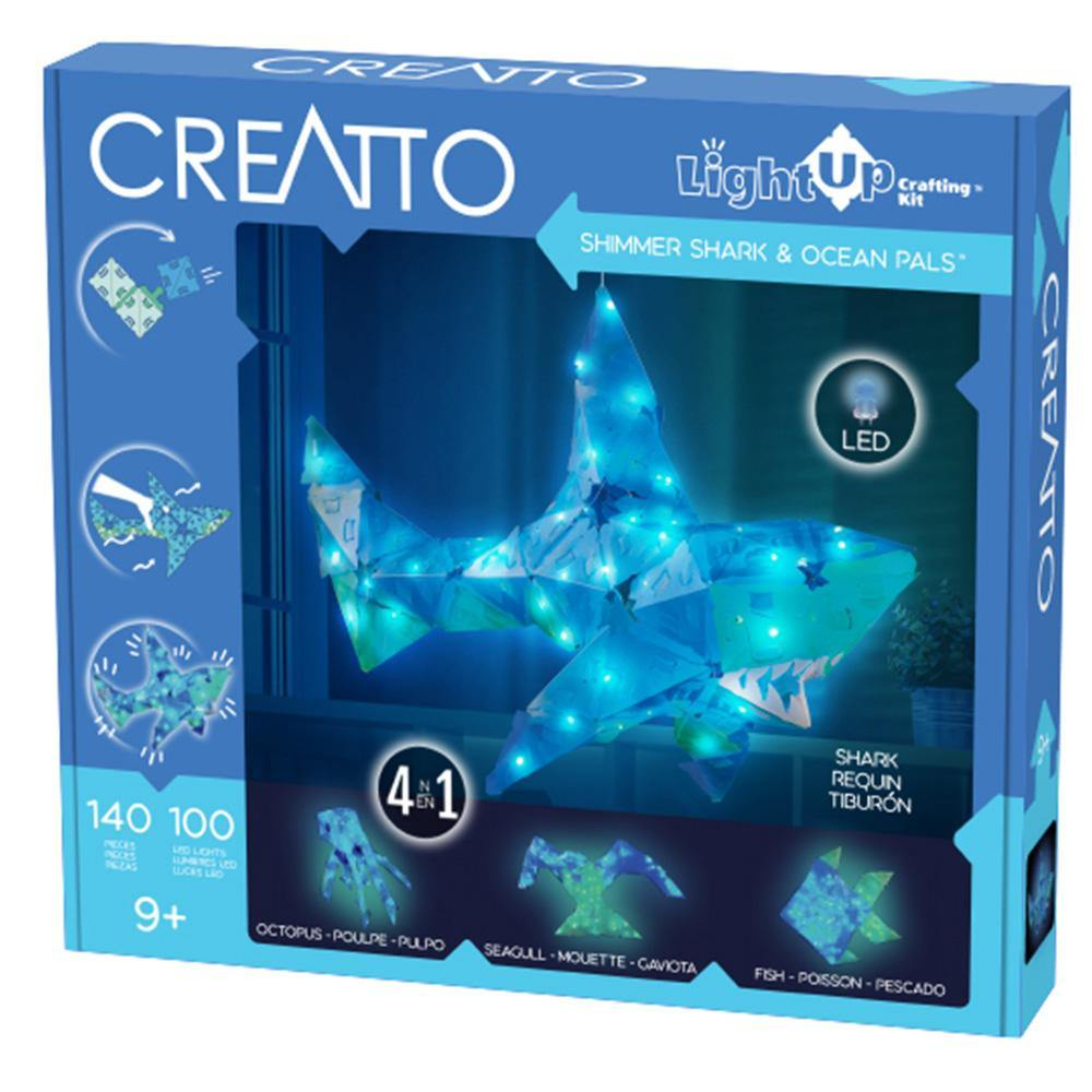 Shimmer Shark & Ocean Pals Light Up Craft Kit