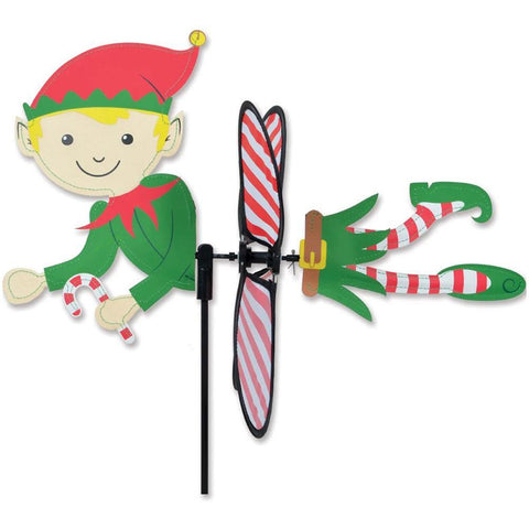 Christmas Elf Petite Wind Spinner