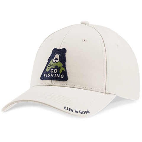 Go Fish Bear High Rise Chill Cap - Kitty Hawk Kites Online Store
