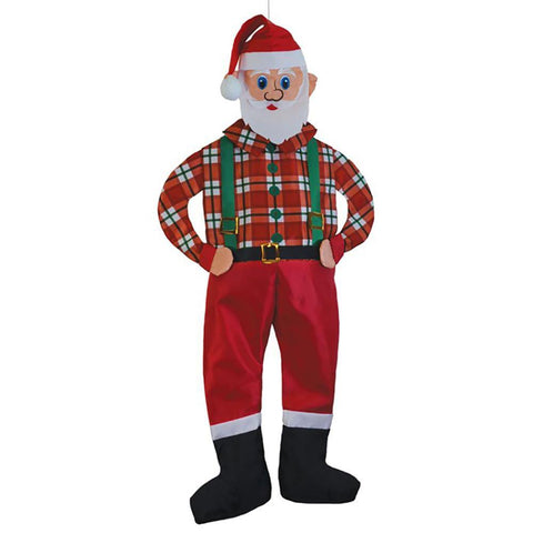 Hipster Santa Wind Friend Windsock