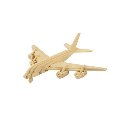 Laser Cut Model Kit - Wooden Airplane