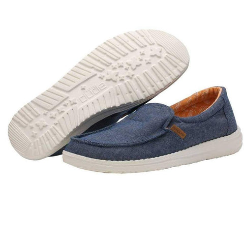 Womens Misty Shoes - Chambray Navy