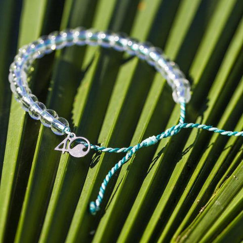 4Ocean Limited Edition Teal Manta Ray Bracelet