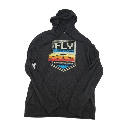 KHK Fly Hang Glider Hooded Tee - Kitty Hawk Kites Online Store