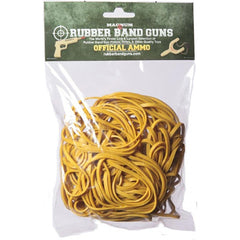 4 OZ Yellow Long Gun Rubber Bands