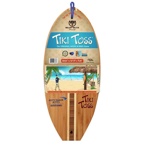 Tiki Toss Game Custom KHK Logo