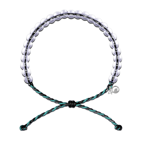 4Ocean Black/Teal Sea Otter Bracelet - Kitty Hawk Kites Online Store