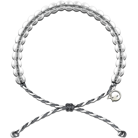 4Ocean Limited Edition Grey/White Shark Conservation Bracelet