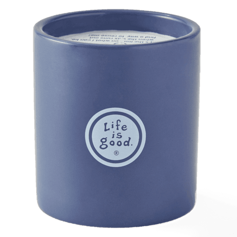 Life is Good Soy Candle - Snowman