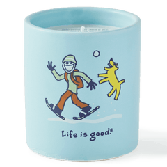 Life is Good Soy Candle - Jake and Rocket
