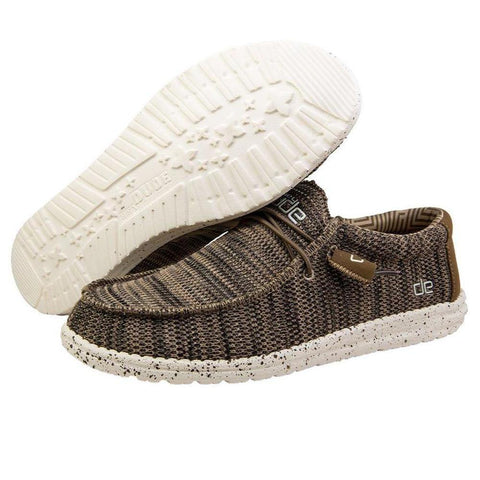 Mens Wally Sox Shoes - Brown