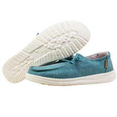Womens Wendy Shoes - Chambray Aqua