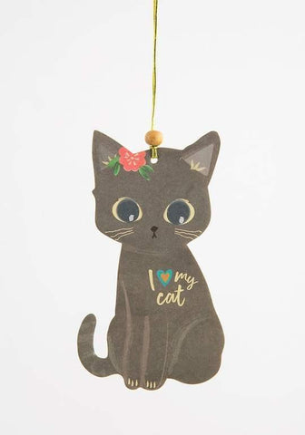 I Love My Cat Airfreshener - Kitty Hawk Kites Online Store