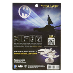 Metal Earth 1989 Batman Batwing 3D Model - Kitty Hawk Kites Online Store