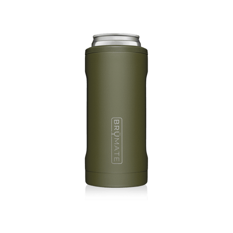 BRUMATE LLC MATTE GREEN HOPSULATER SLIM - 224281
