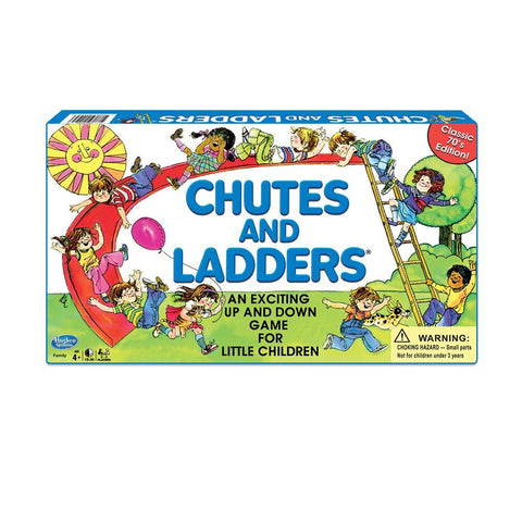 Classic Chutes and Ladders Game - 1970s Edition - Kitty Hawk Kites Online Store