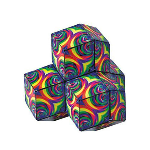 Shashibo Shape Shifting Box - Confetti - Laurence Gartel Artist Series Collection