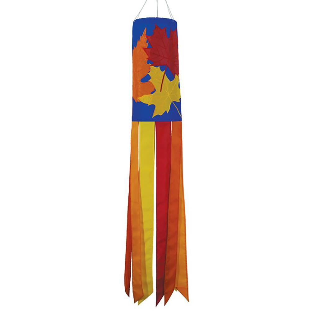"Fall Leaves 40"" Windsock - Kitty Hawk Kites Online Store"