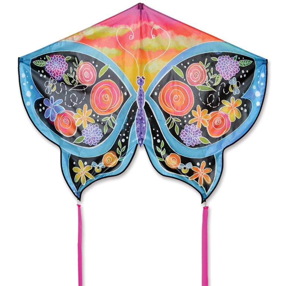 Floral Butterfly Kite