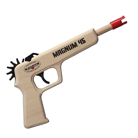 Magnum 45 Rubber Band Gun Toy