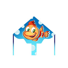 Eco Line Simple Flyers - Jacques the Fish Delta Kite - Dp