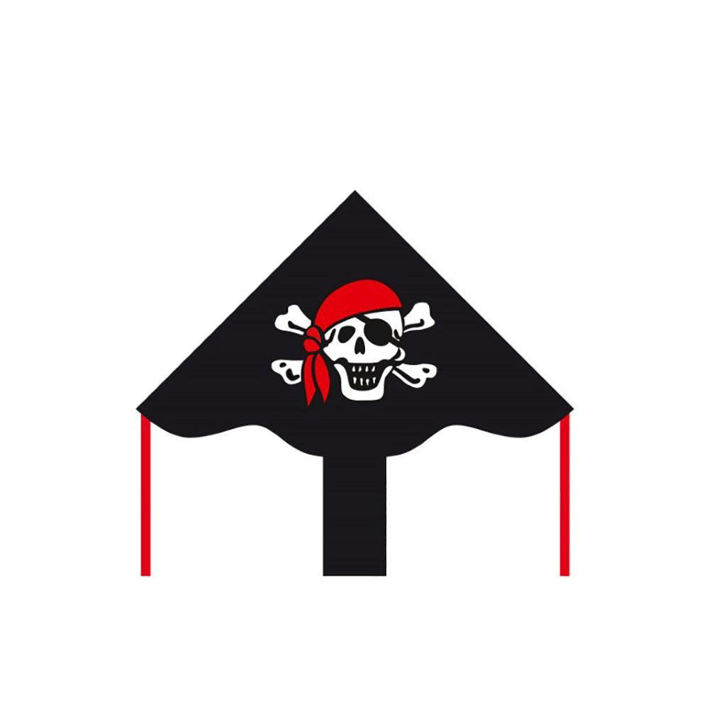 Eco Line Simple Flyers - Jolly Roger Delta Kite - Dp