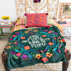 Kind People Tapestry Blanket