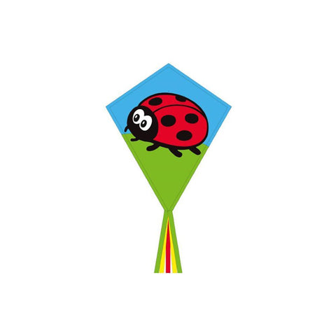 Eco Line Eddy - Ladybug Diamond Kite - Dp