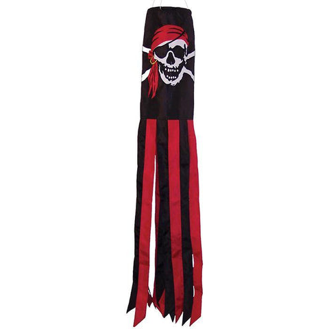 Jolly Roger Pirate 40 Inch Windsock - Kitty Hawk Kites Online Store