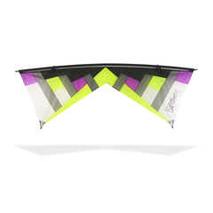 Rev New York Minute Quad Line Kite W/ Reflex