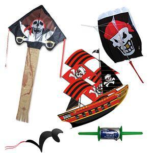 Pirate Kite Package