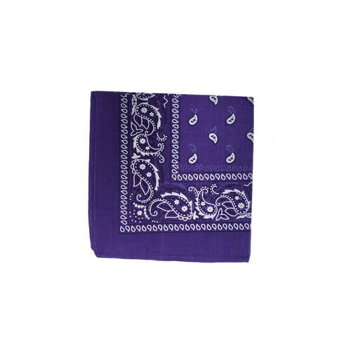 Purple Bandana