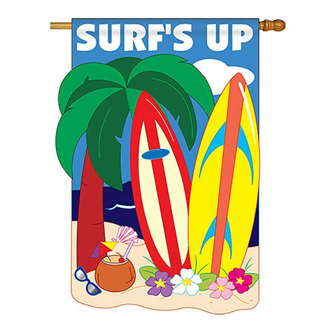 Surf's Up House Flag