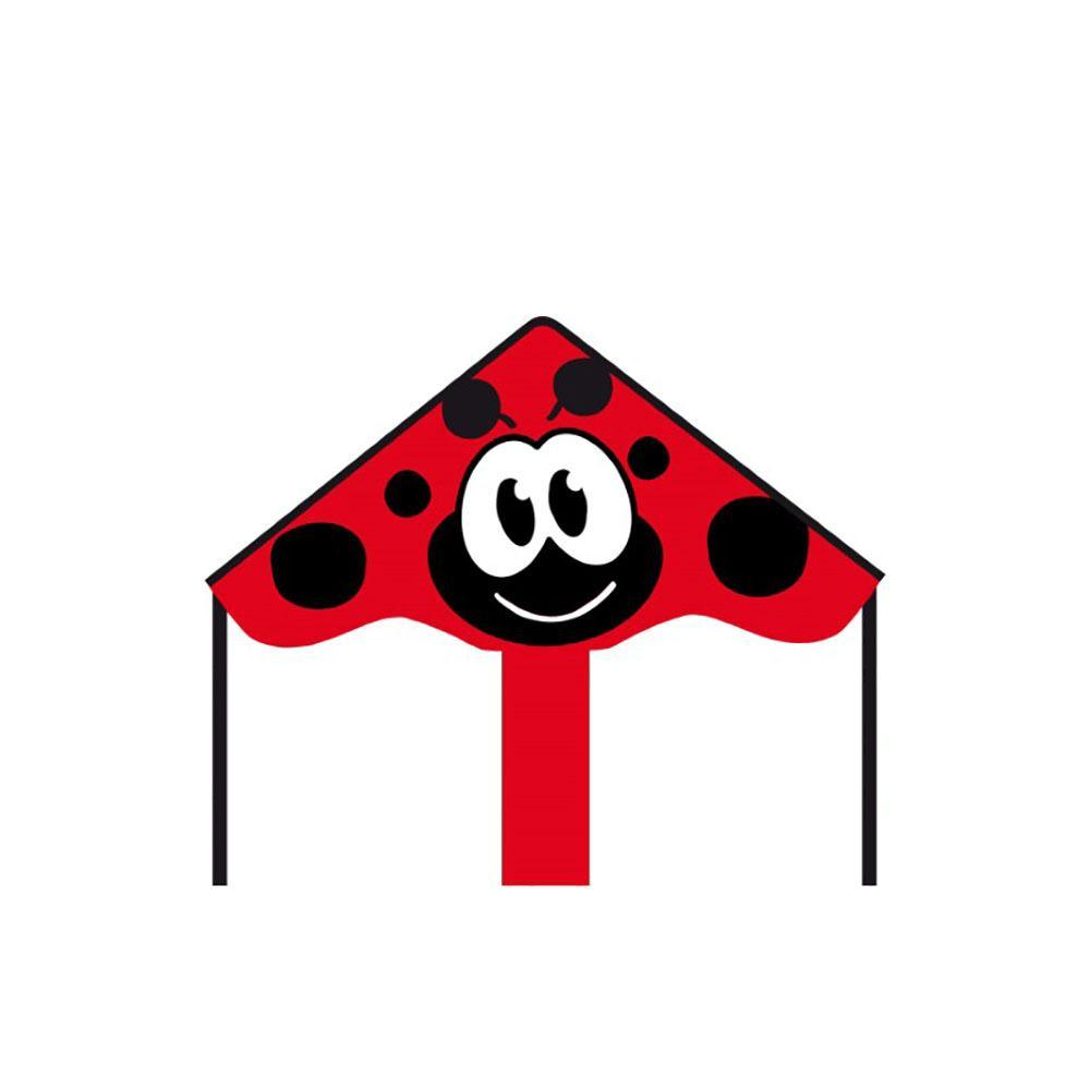 Eco Line Simple Flyers - Ladybug Delta Kite - Dp