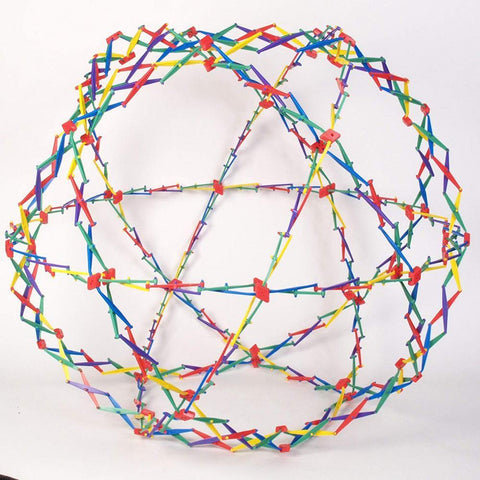 Mini Rainbow Hoberman Sphere