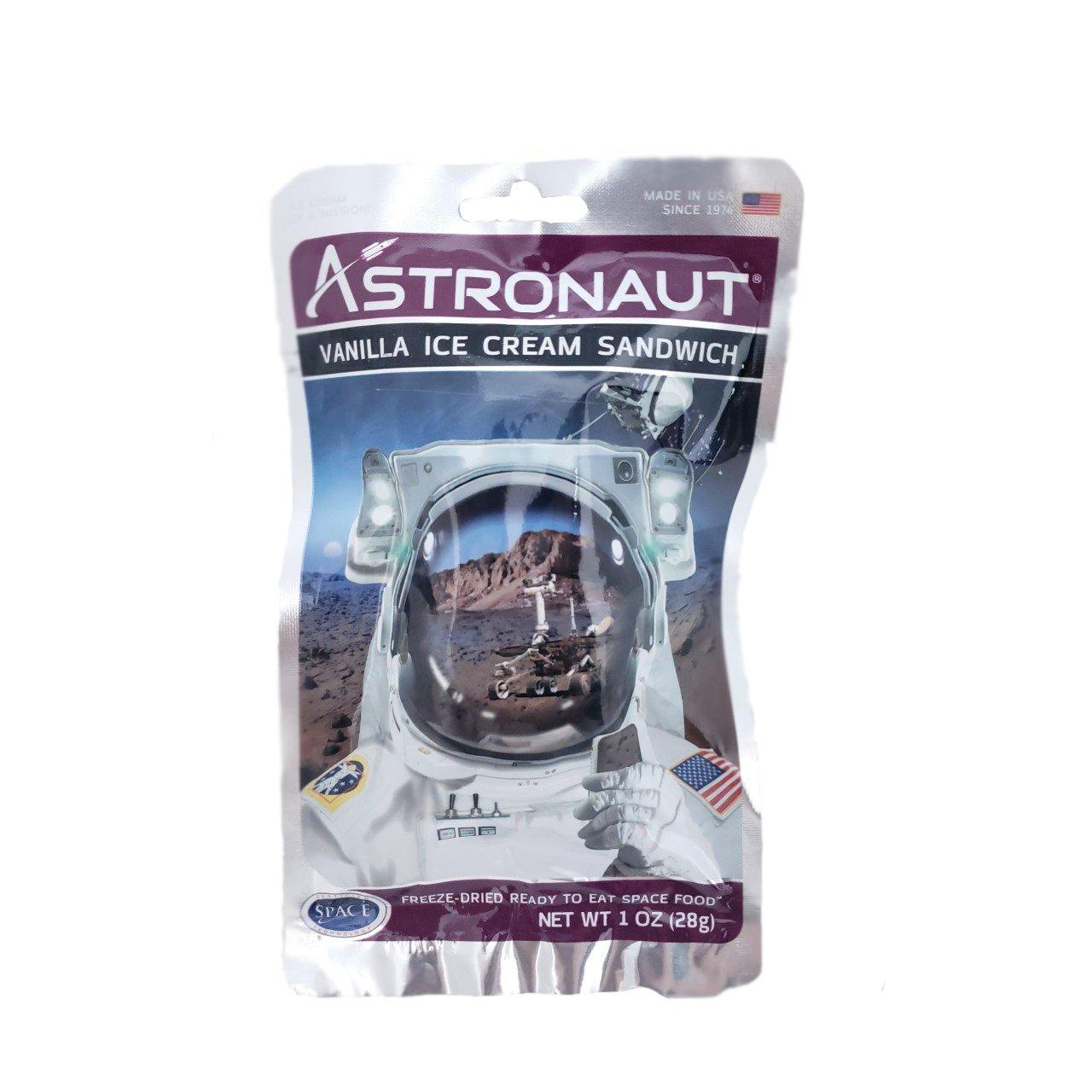 Astronaut Space Ice Cream Sandwich - Vanilla - Kitty Hawk Kites Online Store
