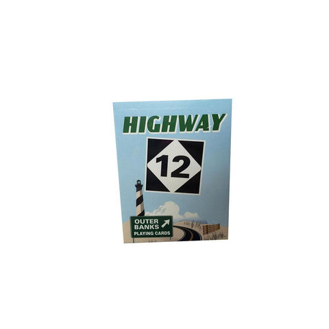 Local Outer Banks Highway 12 Playing Cards