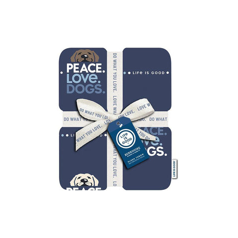 Berkshire Peace, Love & Dogs Plush Throw Blanket - Kitty Hawk Kites Online Store