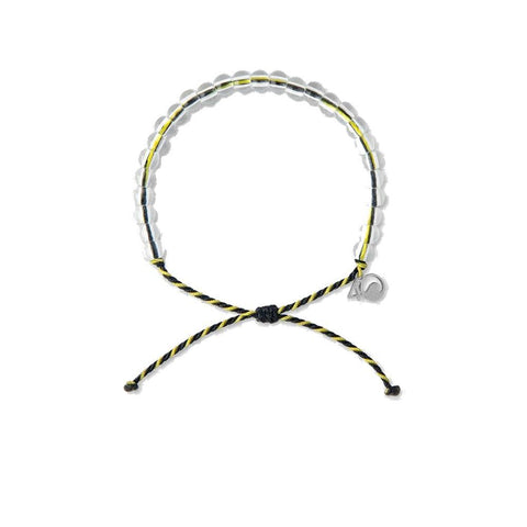 4Ocean Black/Yellow Penguin Bracelet - Kitty Hawk Kites Online Store