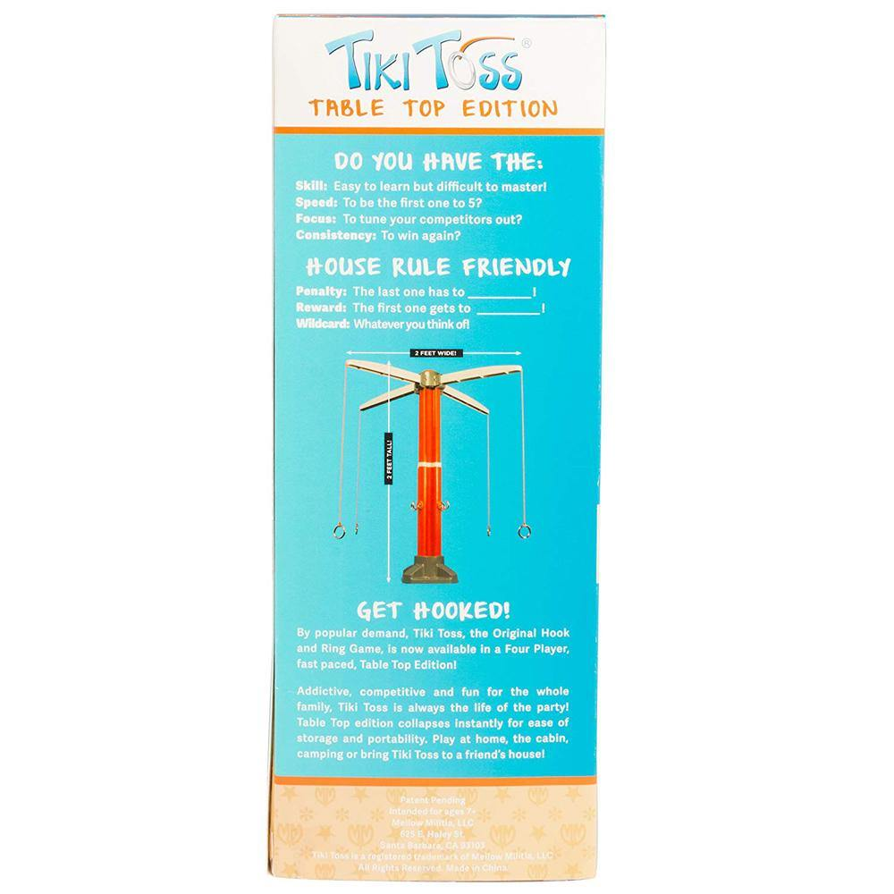 Table Top Tiki Toss Game - Kitty Hawk Kites Online Store