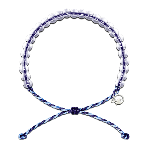 4Ocean Blue/Purple Whale Bracelet