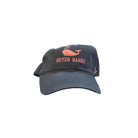 Outer Banks Whale Applique Hat